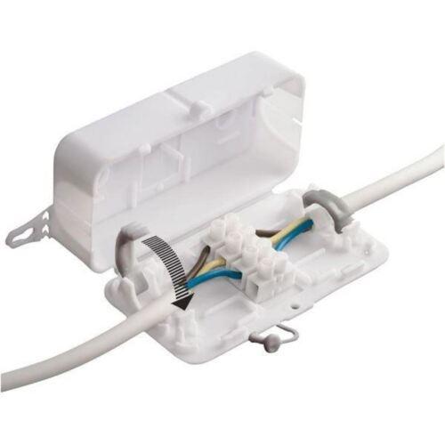002 Debox in-line connettore box con 4 POLI MORSETTIERA HYLEC deksb