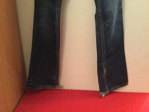 Blue Denim Mek donna 26 Oaxaca da Taglia New 34 Stretch Jeans T7EOqwBxcO