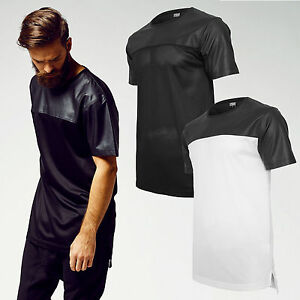 URBAN-CLASSICS-T-shirt-Maglia-uomo-Football-Mesh-Long-Jersey-TB980
