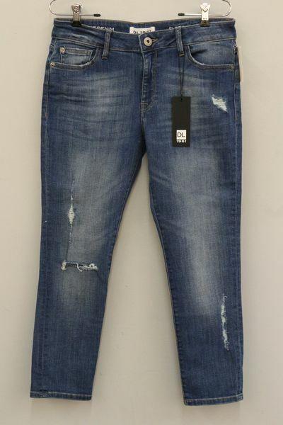 Femme 30 DL 1961 'Florence' intelligent Denim instasculpt Cropped Jeans Neuf Avec Étiquettes 178.00