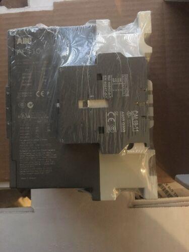 ABB AF110-30-11 Contactor Non-Rev 100-240VAC Coil 110A 1NO//1NC Aux