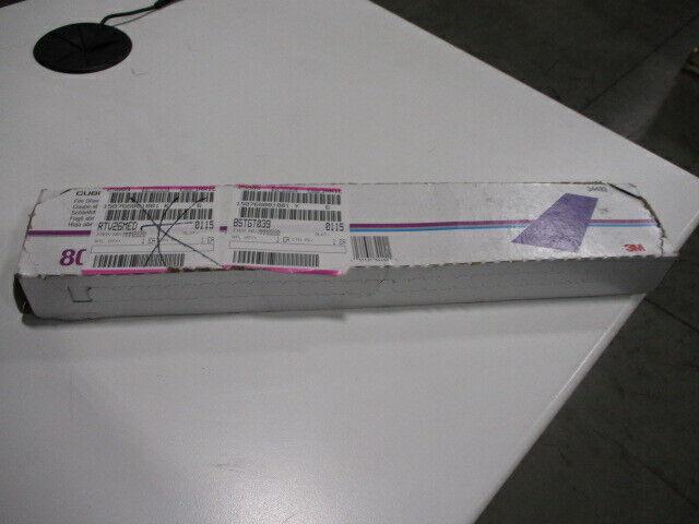 2 3//4 inch x 16 1//2 inch 3M Cubitron II Hookit File Sheet 34492 80+ grade