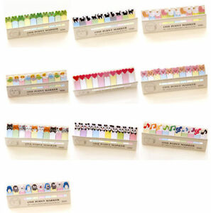 Cute Cartoon Sticker Office Bookmark Marker Memo Index Tab Sticky Notes