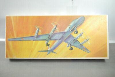 Sanft Veb Plasticat Tu-20 Airplane Ddr Flugzeug Plastik Modellbausatz 1 :100 (mf10) In Vielen Stilen