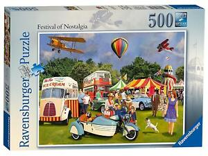 Jigsaw-Puzzle-Festival-OF-NOSTALGIA-Vintage-Retro-Festival-500Piece-Family-Game