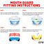 Indexbild 4 - Mundschutz / Zahnschutz Gel Boxen MMA Rugby Hockey Kampfsport Schützt Zähne API