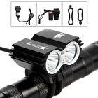 SolarStorm 5000LM 2x CREE XM-L U2 LED Bicycle Bike Headlamp HeadLight Light NEW
