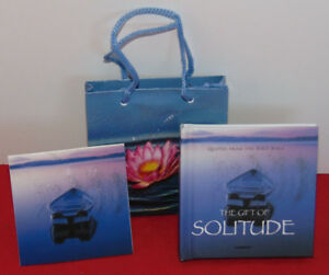 Mini-Book-The-Gift-of-Solitude-Christian-Bible-Scripture-Verses-w-Card-amp-Bag
