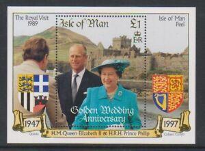 Isle-of-Man-1997-Golden-Wedding-sheet-MNH-SG-MS772