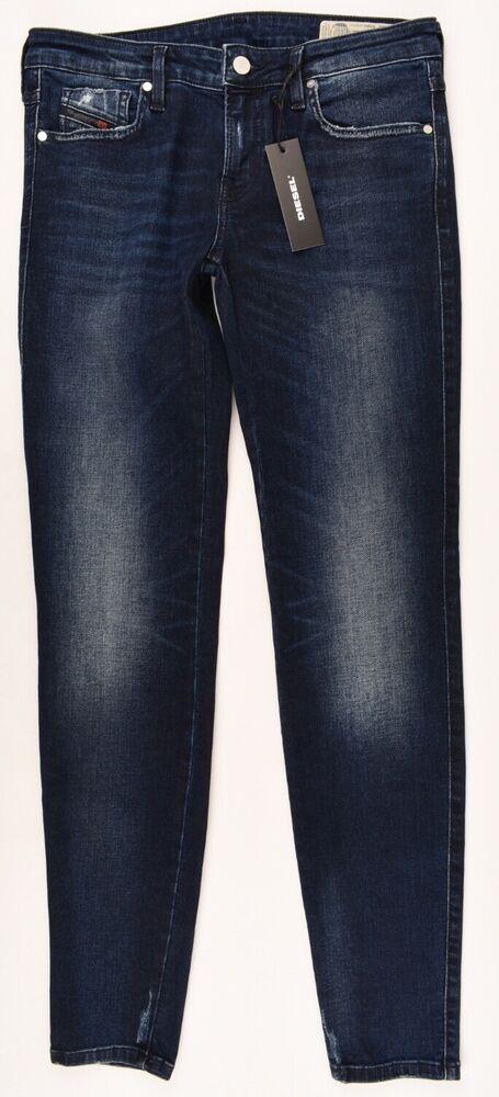 Amical Femme Diesel Gracey Super Slim Skinny Low Waist Jeans, Taille W29 L32 ChronoméTrage Ponctuel