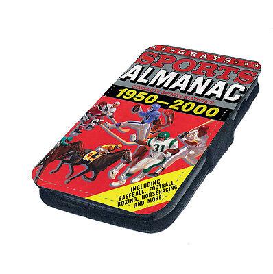 Sports Almanac Future Printed Faux Leather Flip Phone Cover Case