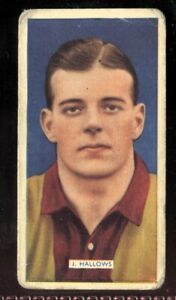 Tobacco-Card-Carreras-POPULAR-FOOTBALLERS-1936-J-Hallows-Bradford-City-35