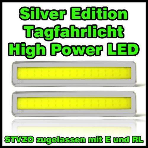 High power 32 LED Gris tuning rl phare DE JOUR MAZDA 626 xedos série 6+9+323f+b