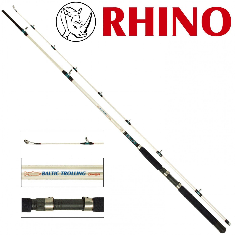 Rhino Baltic Trolling Diver 2,85m zum 15-25lb Trollingrute zum 2,85m Schleppfischen fcb5a4