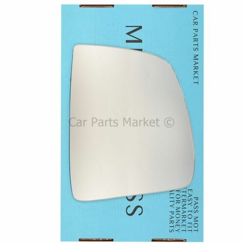 plate Right Driver side wing mirror glass for Vauxhall Combo 2012-2017