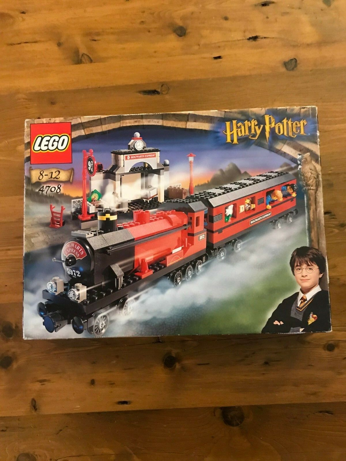 Lego 4708 harry potter train hogwarts express