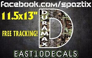 6.six duramax vinyl bumper sticker decal windshield banner 6.0 7.3
