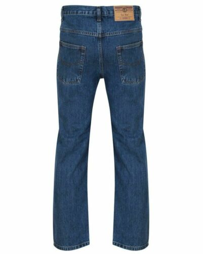 Straight Taglia nero Mens Boys scuro 30 New Azzurro Lavoro Fashion Adulti blu to50 Leg Jeans Denim Branded wUfEqTx4