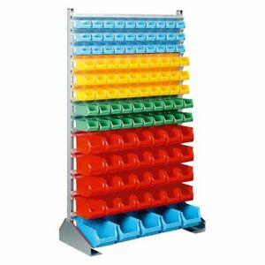 Etagere-avec-113-Plastique-Boites-Lxpxh-1130x500x1900mm-Profiplus-Depot-gt-Shs-1
