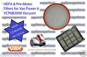 Vax-Power-6-Bagless-Vacuum-Cleaner-Filter-Pack-VCP6BFLT-Models-VCP6B2000-VX38