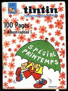 JOURNAL-TINTIN-french-No-910-with-supplement-CLUB-DES-AFRAID-OF-NOTHING-full