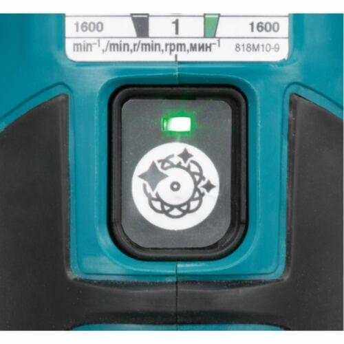 Makita 18 V Batterie-Exzenterpolierer dpo600zsans batterie sans chargeur