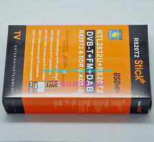 1set RTL2832U R820T2 USB Stick DVB-T+FM+DAB SDR&ADS-B E4000