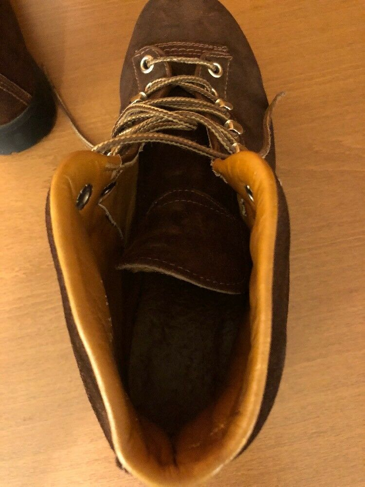 The Alps Fabiano Rocca Damens's Hiking Ankle Ankle Ankle Stiefel Größe 7.5N Suede Upper Braun c0fa85