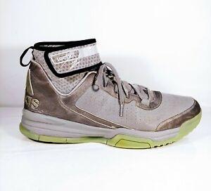 Details about ADIDAS ADIPRENE TECHFIT DUAL THREAT Men's Sz 14 Gray High Top Basketball Shoes