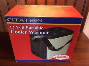 Thermoelectric Car Boat Travel Fridge Electric Portable 12 Volt Cooler /& Warmer