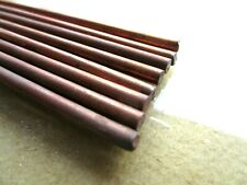 8 38 Old Copper Covered Metal Round Stock Rod 13