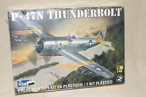 Revell-1-48-Scale-P-47N-Thundertbolt-Plastic-Model-Kit-85-5314-sealed-7676