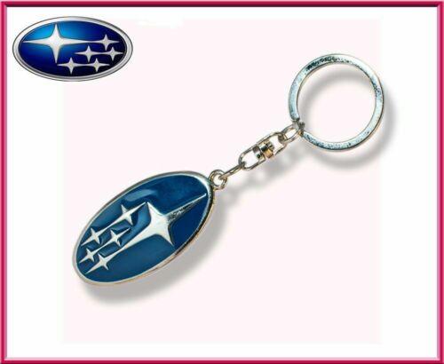 Subaru metal Key ring car accessory Key chain Key fob Pendant Metal Finish