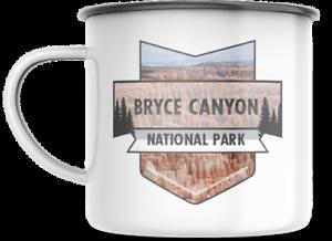 Bryce Canyon Utah National Park 12 OZ Enamel Mug  Campfire Gift Mug Souvenir