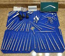 K Storz Xomed V Mueller Ent Ear Surgical Instruments Curette Pick Scissor Etc