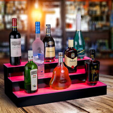 Acrylic Led Lighted Bar Stage Display Expandable Glowing Liquor Bottle Shelf