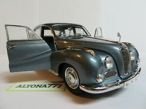 AUTOart-Millennium-1-18-BMW-502-LUXUS-2-6-Blue-Metallic-1958-DIECAST-CAR-MODEL