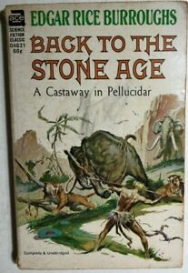 BACK-TO-THE-STONE-AGE-by-Edgar-Rice-Burroughs-Frazetta-amp-Krenkel-cover-Ace-pb
