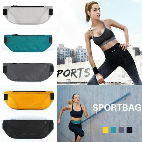 Waterproof Runner Sports Waist Bag Running Jogging Belt Pouch Zip Fanny Pack aa
