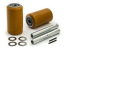 Toyota 6HBW20 Electric Pallet Jack Load Wheel Kit Wheels, Axles, hardware