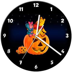 Dettagli su Halloween Orologio in Vetro da Parete Impara Regalo Camera da  Letto Gioco