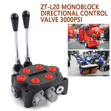 2spool 25gpm Hydraulic Directional Control Valve Tractor Loader With Joystick Sale