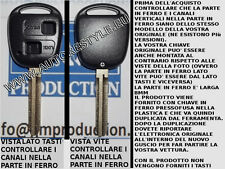 Chiave scocca-guscio-cover key TOYOTA YARIS RAV 4 RAV4 con lama speculare da 8mm