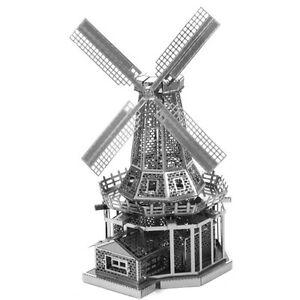 Fascinations-Metal-Earth-Marvel-Windmill-3D-Laser-Cut-Steel-Puzzle-Model-Kit-NEW