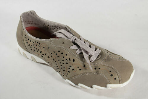 Footbed Lace Ladies Rieker up Beige Removable New Shoes fHS8wYCxq