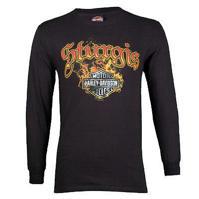 Sturgis Harley-Davidson® Men/'s Skull Collage Dye Short Sleeve T-Shirt
