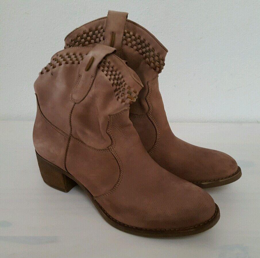 Tamaris Damen Stiefeletten Stiefel Gr.40 Schuhe braun Gr.40 Stiefel NEU 990735