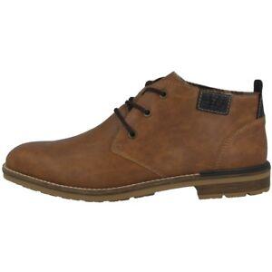 B1340 hombre Oxfords Zapatos cordones con Antiestradores Marrón malta para Rieker 22 Eckley awvnwqHS