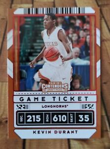 2020-21 Panini Contenders Draft Picks - Kevin Durant 🔥 Game Ticket RED! #5