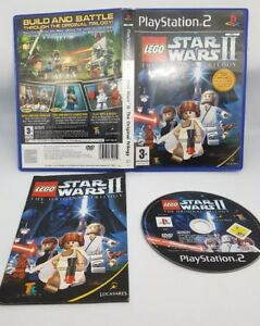 Image Is Loading PS2 LEGO Star Wars II 2 The Original